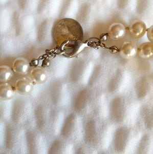 Authentic Tom Binns Designer Pearl Necklace